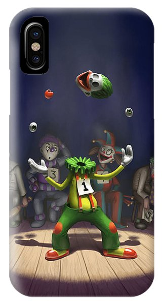 A Hard Act To Follow IPhone Case