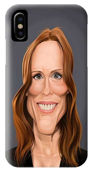 Celebrity Sunday - Julianne Moore IPhone Case