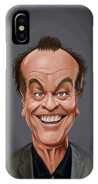 Celebrity Sunday - Jack Nicholson IPhone Case