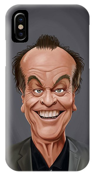 Celebrity Sunday - Jack Nicholson IPhone Case