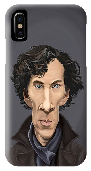 Celebrity Sunday - Benedict Cumberbatch IPhone Case