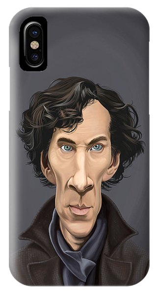 Celebrity Sunday - Benedict Cumberbatch IPhone Case