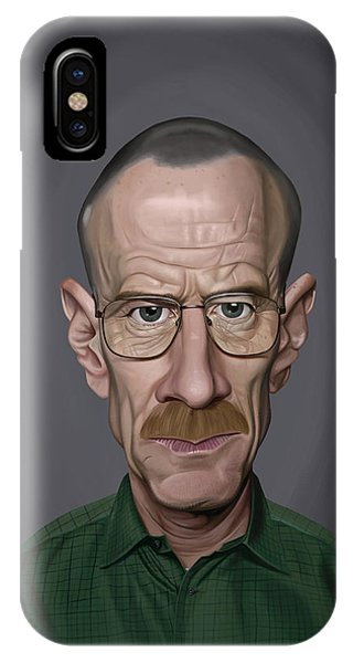 Celebrity Sunday - Bryan Cranston IPhone Case