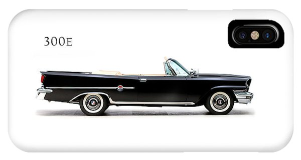 Movement iPhone Case - Chrysler 300e 1959 by Mark Rogan