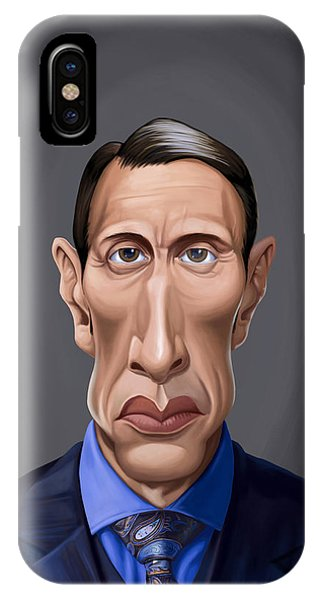 Celebrity Sunday - Mads Mikkelsen IPhone Case