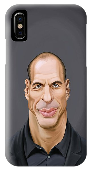 Celebrity Sunday - Yanis Varoufakis IPhone Case