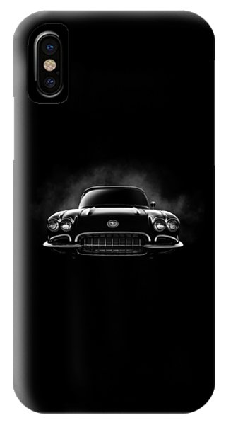 Car iPhone X Case - Circa '59 by Douglas Pittman