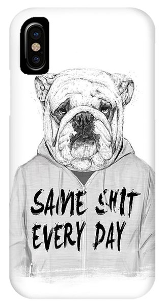 iPhone Case - Same Shit... by Balazs Solti