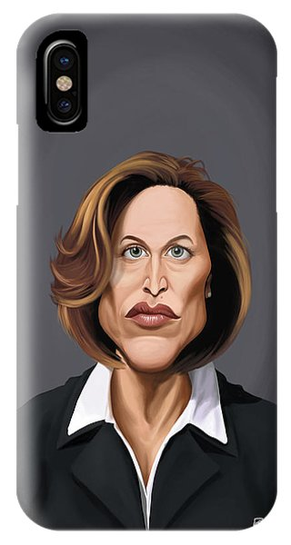 Celebrity Sunday - Gillian Anderson IPhone Case