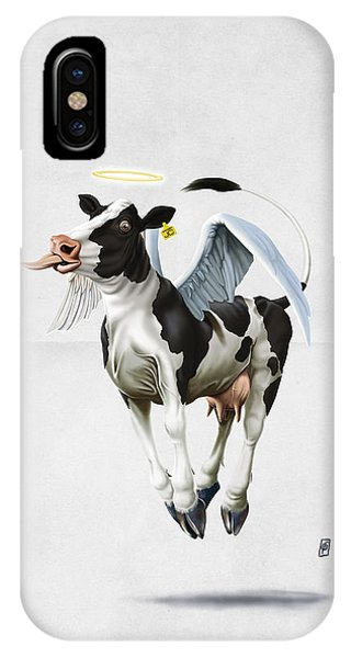 Holy Cow Wordless IPhone Case