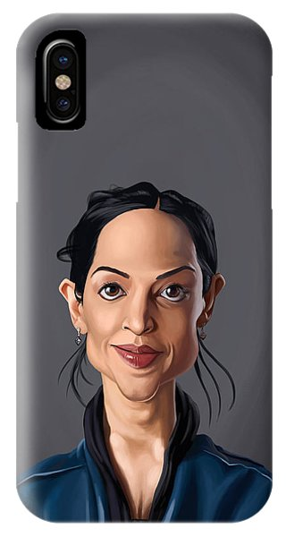 Celebrity Sunday - Archie Panjabi IPhone Case