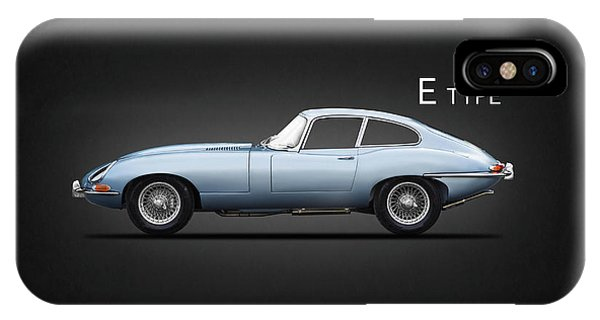 Coupe iPhone Case - The E Type by Mark Rogan