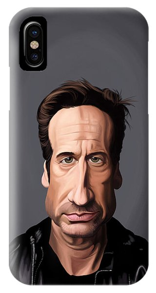Celebrity Sunday - David Duchovny IPhone Case