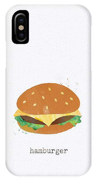 Lettuce iPhone Case - Hamburger by Linda Woods
