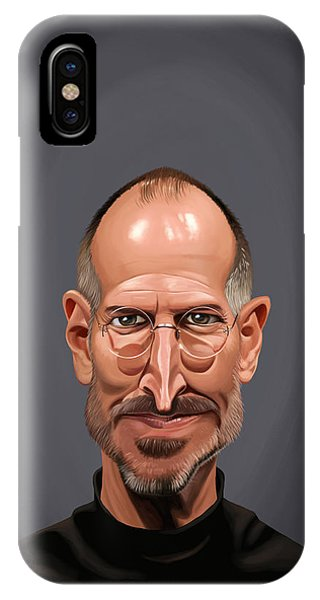 Celebrity Sunday - Steve Jobs IPhone Case