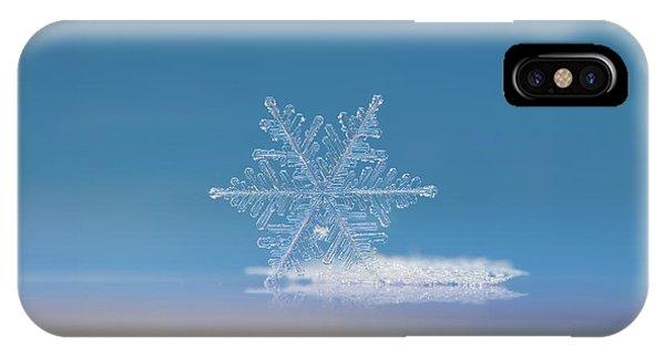 Snowflake Photo - Cloud Number Nine IPhone Case