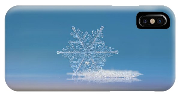 Snowflake Photo - Cloud Number Nine IPhone Case