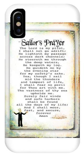 Sailor's Prayer IPhone Case