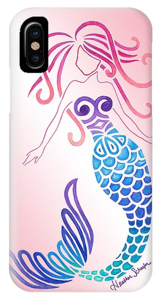 Tribal Mermaid IPhone Case