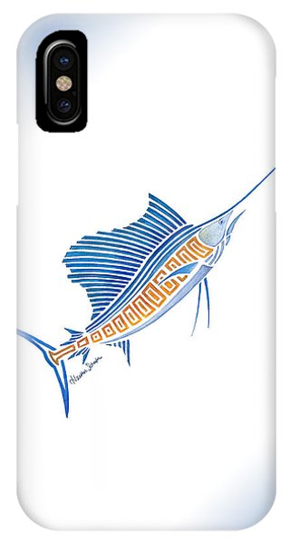 Tribal Sailfish IPhone Case
