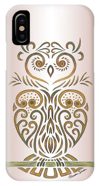 Tribal Owl IPhone Case