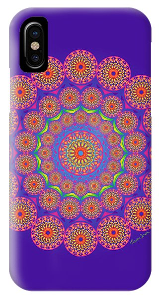 From The Center IPhone Case