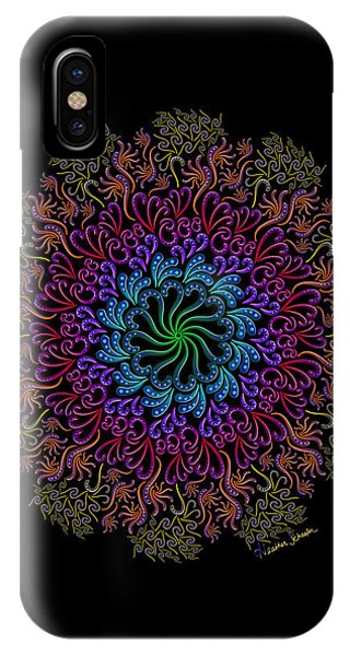 Splendid Spotted Swirls IPhone Case