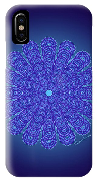 Blue Obsession IPhone Case