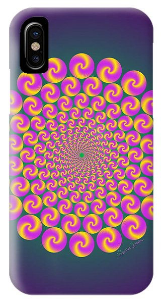 Circles Circus IPhone Case