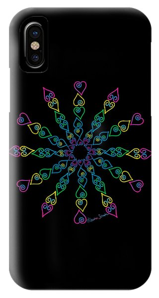My Heart Flip Flops IPhone Case