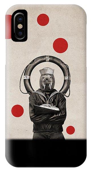 Navigation iPhone Case - Animal15 by Francois Brumas