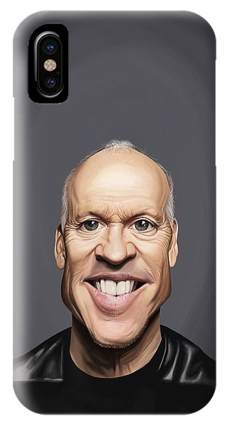 Celebrity Sunday - Michael Keaton IPhone Case