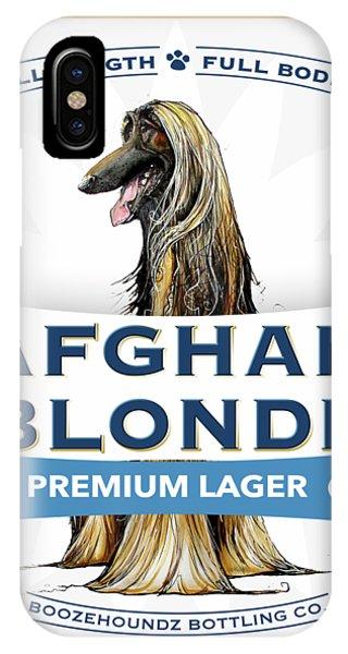 Afghan Blonde Premium Lager IPhone Case