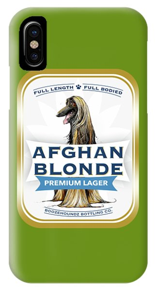 Afghan Blonde Premium Lager IPhone Case