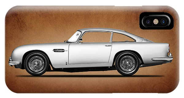Martin iPhone Case - The Aston Martin Db5 by Mark Rogan