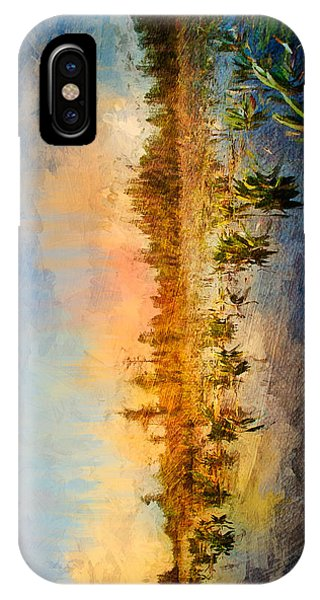 Sunset Over The Okefenokee IPhone Case