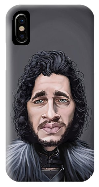 Celebrity Sunday - Kit Harington IPhone Case