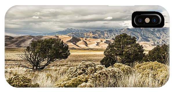 Great Sand Dunes National Park And Preserve IPhone Case