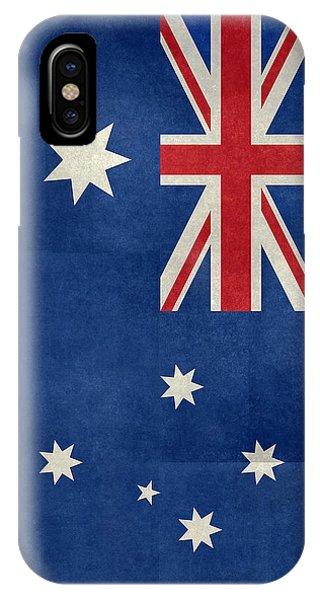Australian Flag Vintage Retro Style IPhone Case
