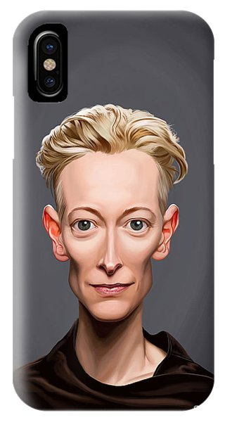 Celebrity Sunday - Tilda Swinton IPhone Case