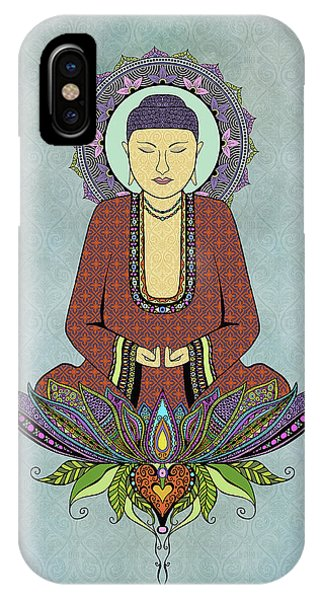 Electric Buddha IPhone Case