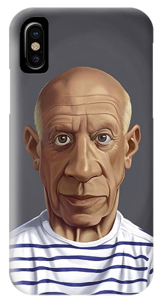 Celebrity Sunday - Pablo Picasso IPhone Case
