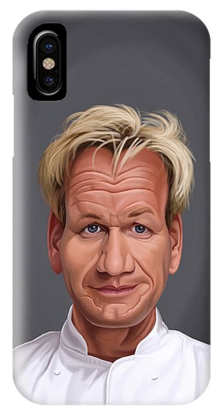 Celebrity Sunday - Gordon Ramsey IPhone Case