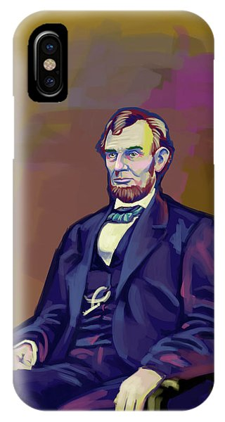 Abe IPhone Case