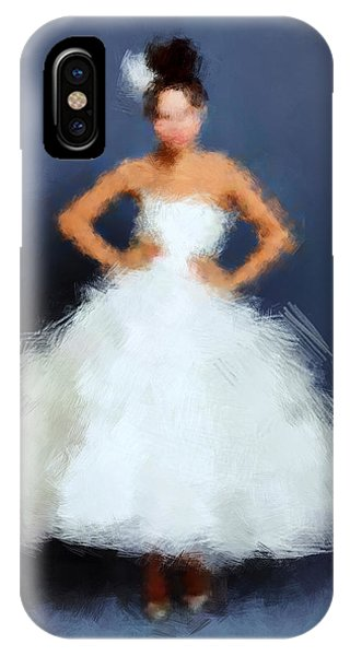 IPhone Case featuring the digital art Becky by Nancy Levan