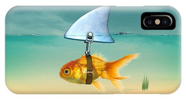 Decor iPhone Case - Gold Fish  by Mark Ashkenazi