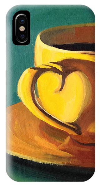 Yellow Java IPhone Case