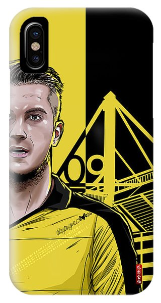 Borussia Dortmund iPhone Case - Danke Marco by Akyanyme