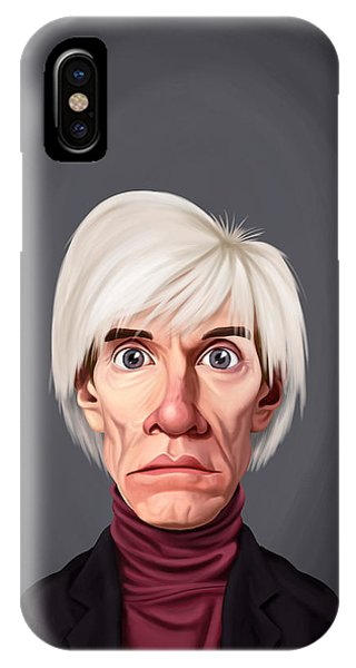 Celebrity Sunday - Andy Warhol IPhone Case