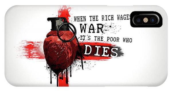 When The Rich Wages War... IPhone Case
